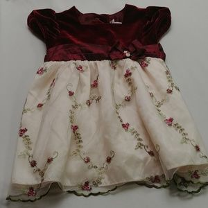 Youngland Holiday Dress Girls 2T